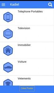 kadiel application malienne de petites annonces