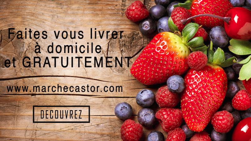 Le marché Castor en ligne: Achetez, commandez vos denrées alimentaires partout