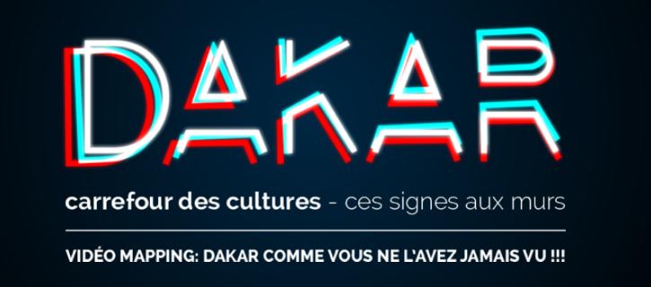 Vidéo Mapping à Dakar : La capitale illuminée durant la biennale des arts