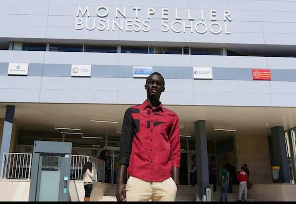 BOURSE D'EXCELLENCE   De Ndande à Montpellier,  Mame Mor Fall à « l'école de la vie »