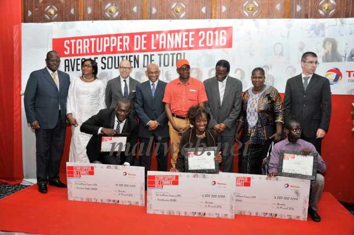Le projet e.commerce Bisugu.com remporte le concours Challenge Startupper 2015 de Total Mali