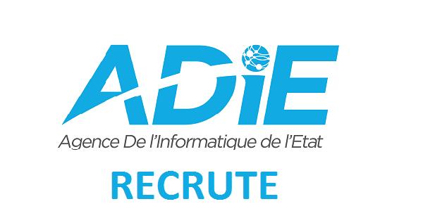 L'Agence De l'Informatique de l'Etat (ADIE) recrute deux (02) Développeurs séniors Java JEE