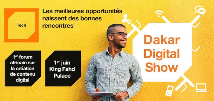 Dakar Digital Show : Orange  organise le 1er Salon africain sur la création de contenu digital