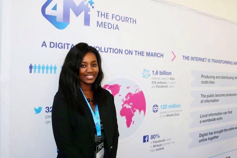 Diérétou Diallo, primée Meilleure Blogueuse au Guinean Excellence Awards 2016