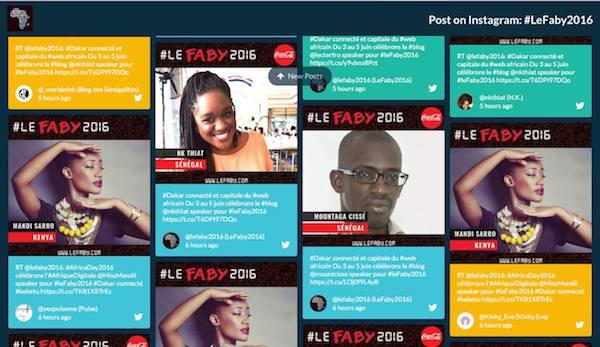 Dakar accueille le festival  en Afrique des blogueurs et youtubeurs