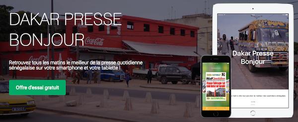 DakarPresse : L'Application qui va changer la vie des sénégalais de la diaspora