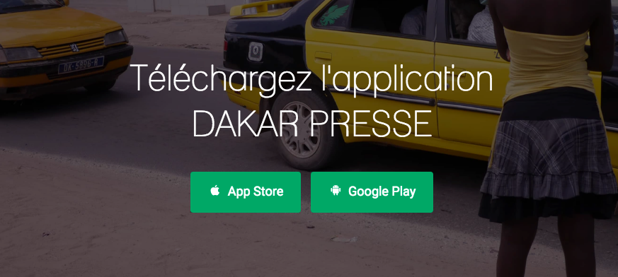Telechargement-Dakarpresse-Application