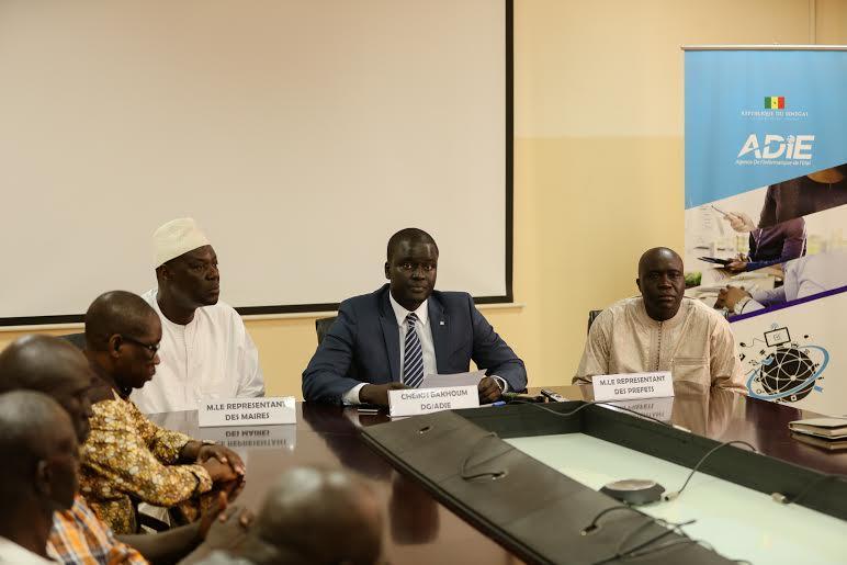 """Le Président Sall attaché à un """"Sénégal numérique"""""""