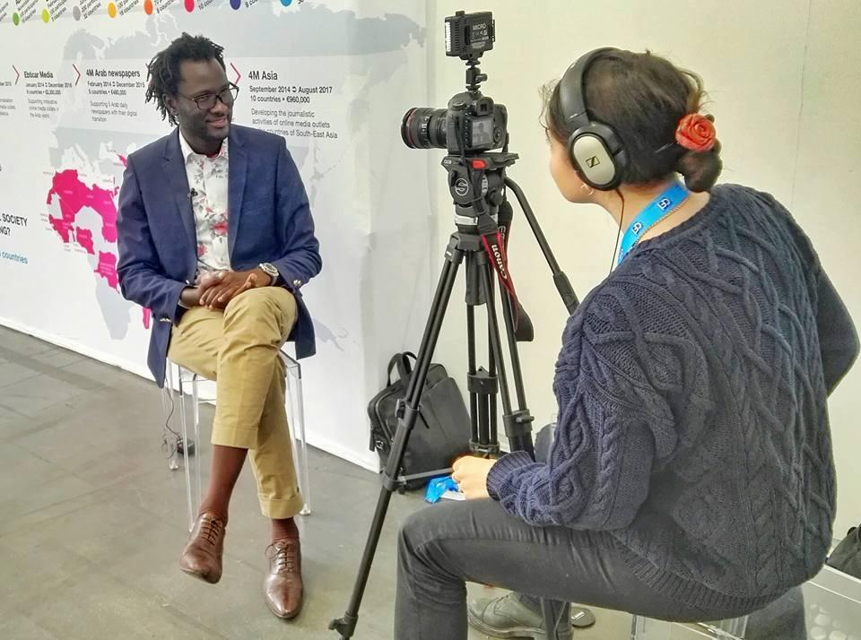 Consolidation démocratique en Afrique par les TIC : Le web-activiste sénégalais Cheikh Fall honoré