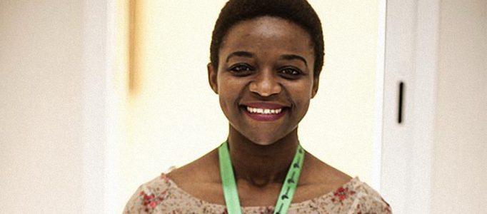 Julie Owono, du bureau Afrique de l'ONG « Internet sans frontières », Lawyer. Journalist