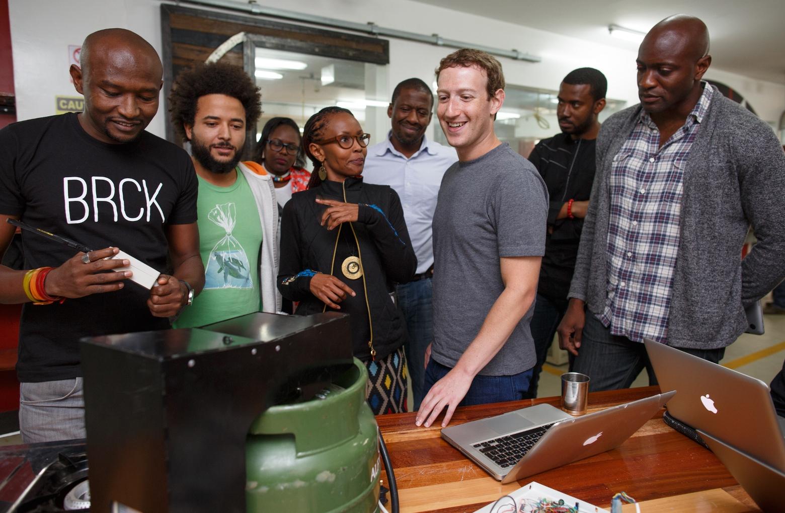 Après le Nigéria, le PDG de facebook s'envole pour le Kenya