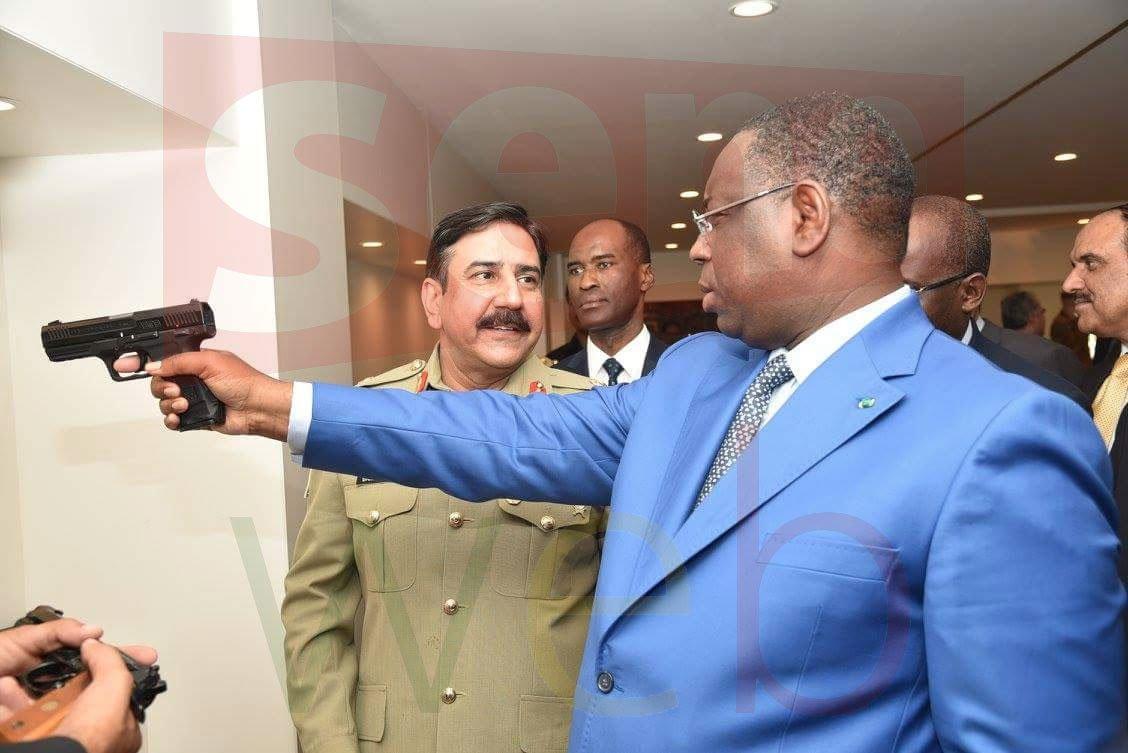Ces photos du président sénégalais qui choquent les internautes