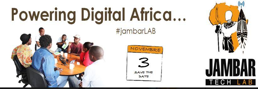 Jambar Tech Lab, un programme pour stimuler l'innovation en Afrique