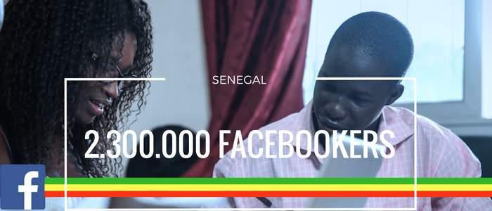 Le Sénégal compte plus de 2.300.000 utilisateurs de Facebook
