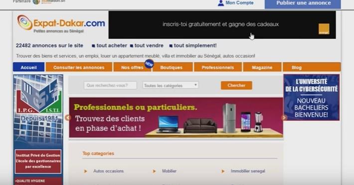 Expat-Dakar.com lance les annonces vidéo !