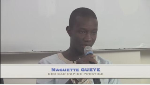 Success story : Maguette Gueye, CEO de Car Rapide Prestige partage son expérience