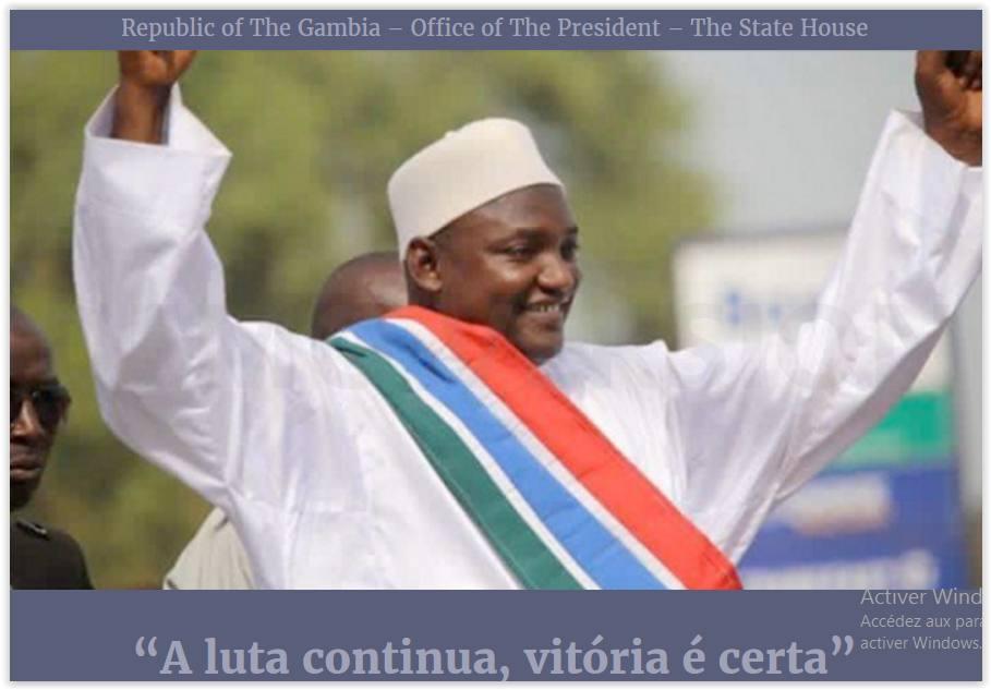 Gambie : Le site internet de la présidence piraté