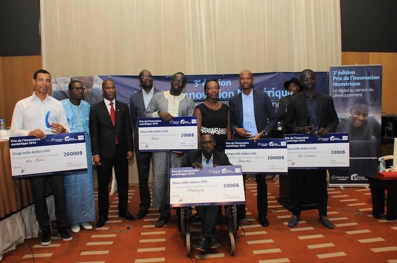 Prix de l'innovation numérique Tigo : Les projets « Seneschool » et « Mia Moké » remportent la 3ème édition