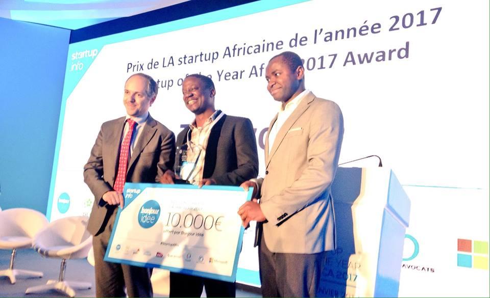 ThinVoid remporte le concours Startup africaine de l'année 2017