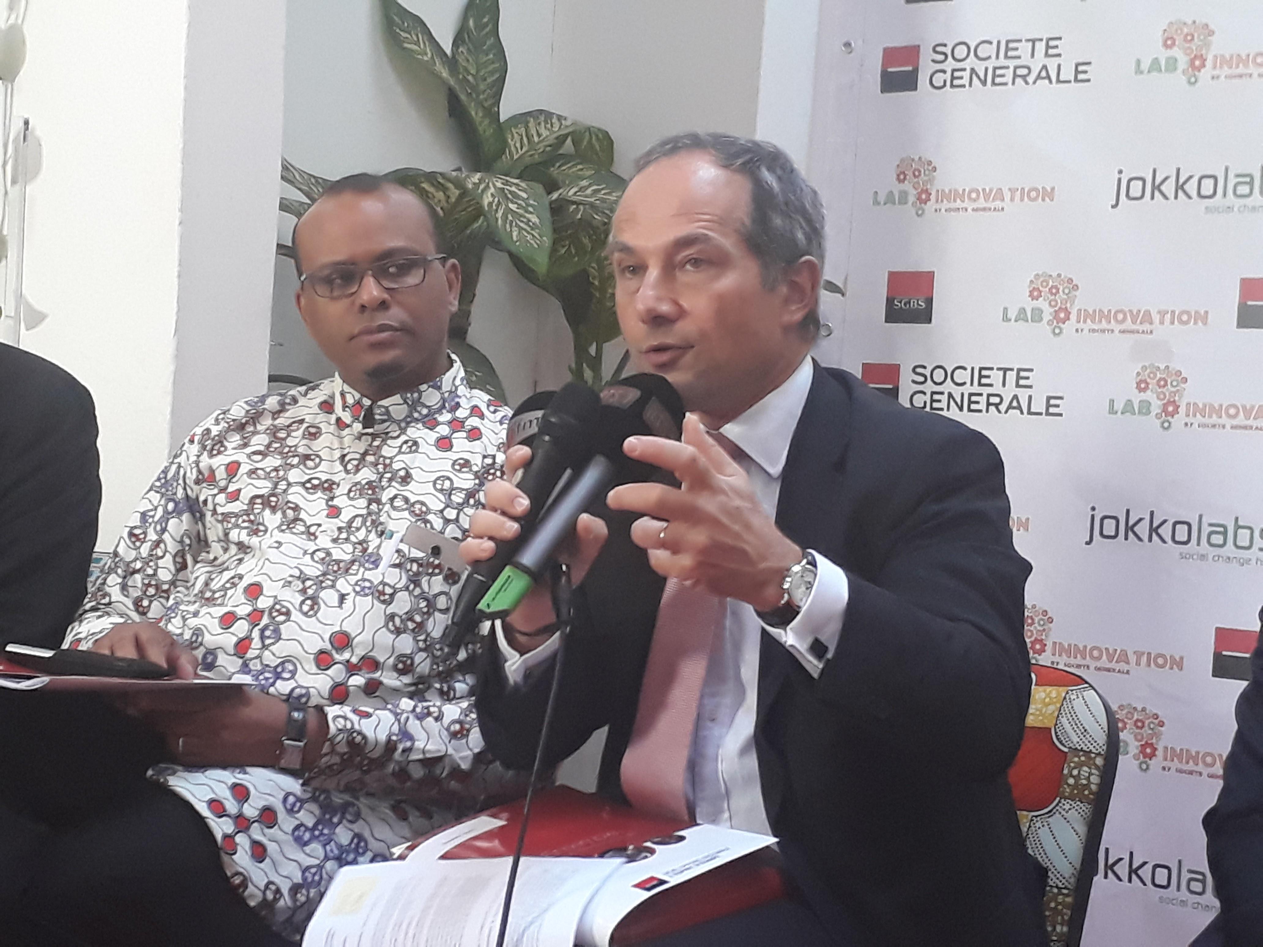 """Frédéric Oudéa, DG Société Générale : """"L'innovation est en train de prospérer en Afrique """""""