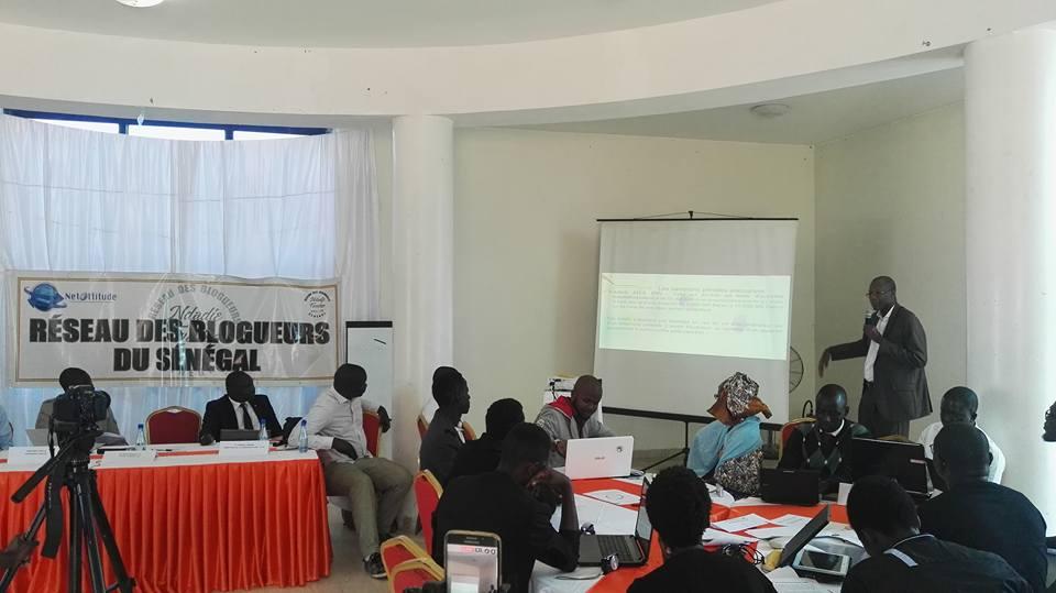 Le réseau des blogueurs du Sénégal contre l'utilisation illicite des informations à caractère personnel