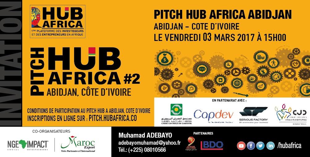 ABIDJAN accueille pour la deuxième fois le PITCH HUB AFRICA