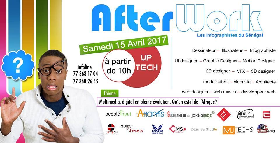 After work: Les infographistes du Sénégal réfléchissent sur l'avenir du digital en Afrique