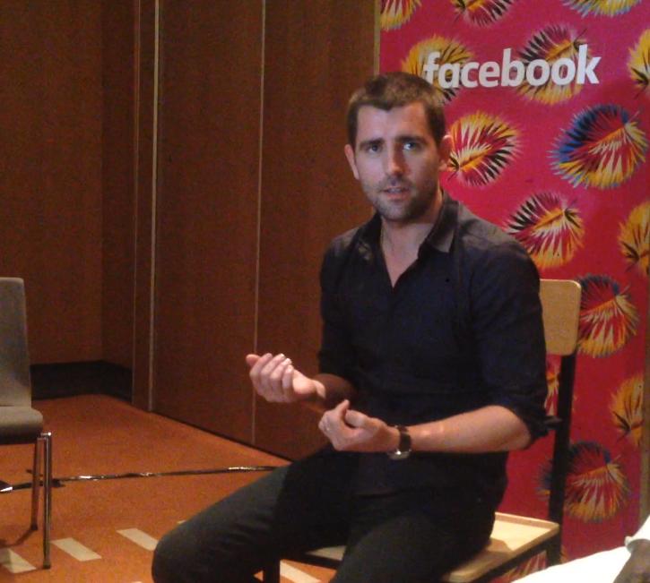 Chris Cox, Chef des produits de Facebook en visite au Sénégal