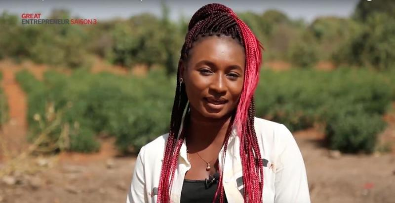 Mboyo Sow, finaliste à l'émission Great Entrepreneur