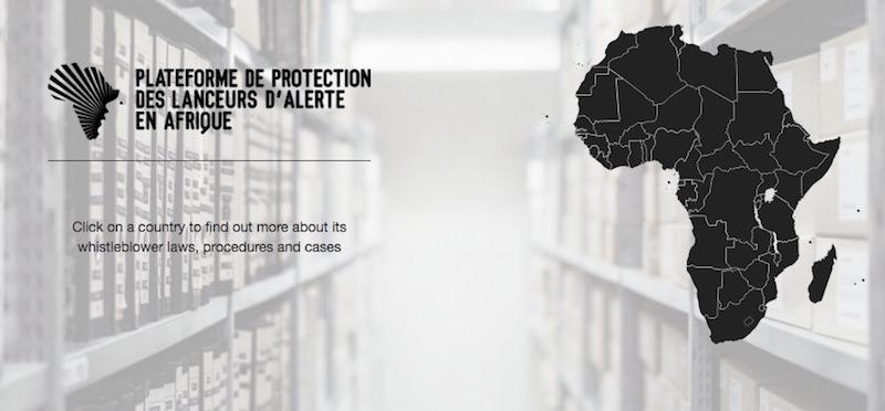 Lancement d'une plateforme de protection des lanceurs d'alerte  en Afrique