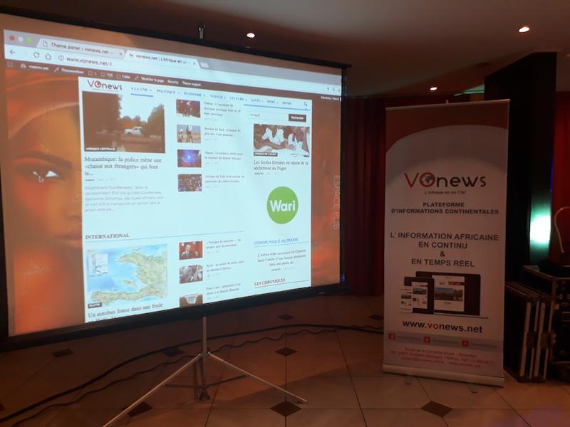 Vonews, une nouvelle plateforme d'informations générales sur l'Afrique