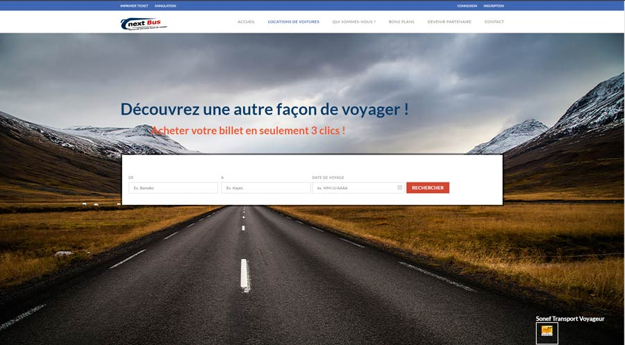 Next-Bus-net site