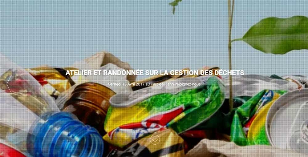 Des start-up organisent une randonnée et des ateliers sur la gestion des déchets
