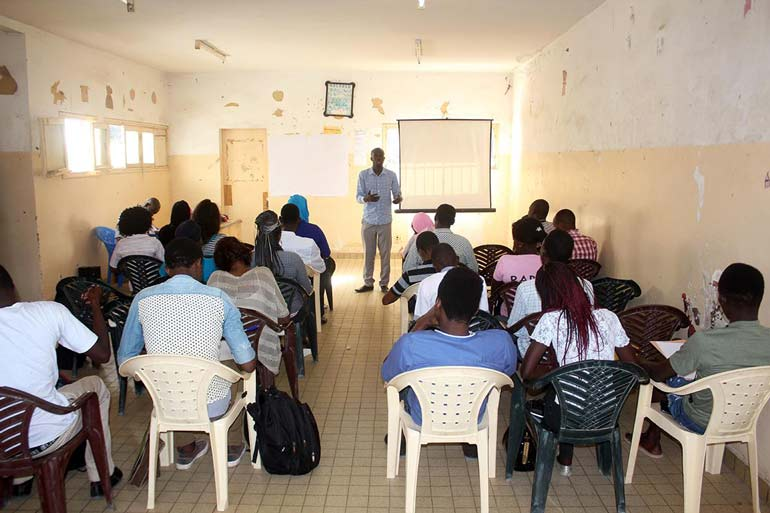 30 jeunes de Dakar et de la banlieue initiés à l'Entreprenariat par l'ONG RABEC