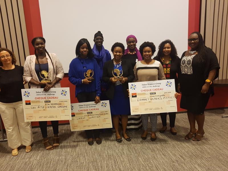 Le projet Carvi Writer lauréat du concours Digital Challenge de Dakar Women's Group