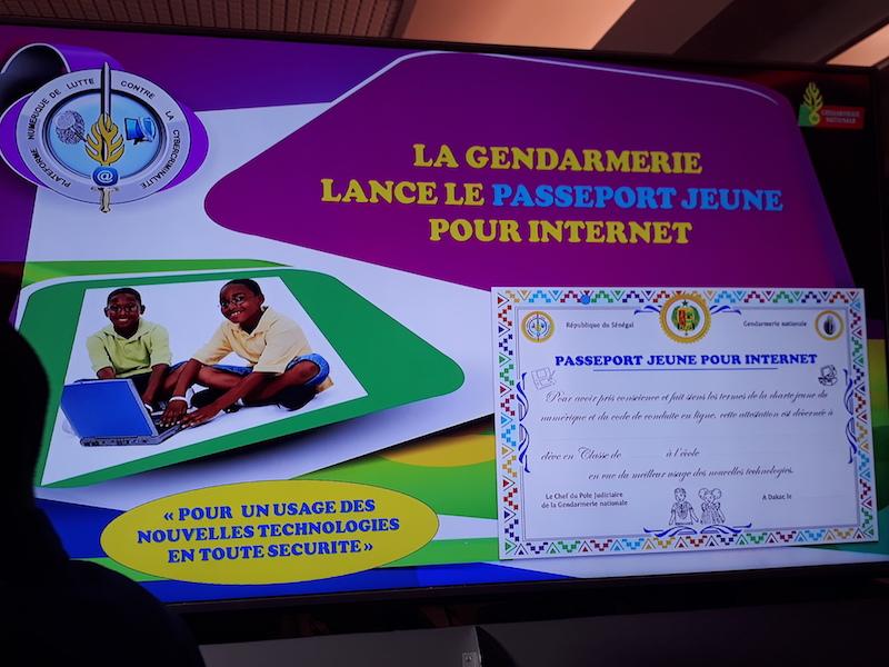 Lutte contre la cybercriminalité : la gendarmerie lance le projet  Passeport Jeune pour Internet