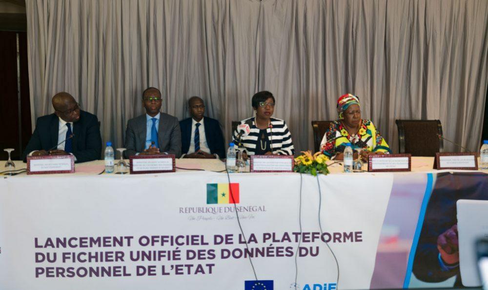 Dématérialisation: Lancement de la plateforme «Girafe», la  base de données sur le personnel de l'Etat