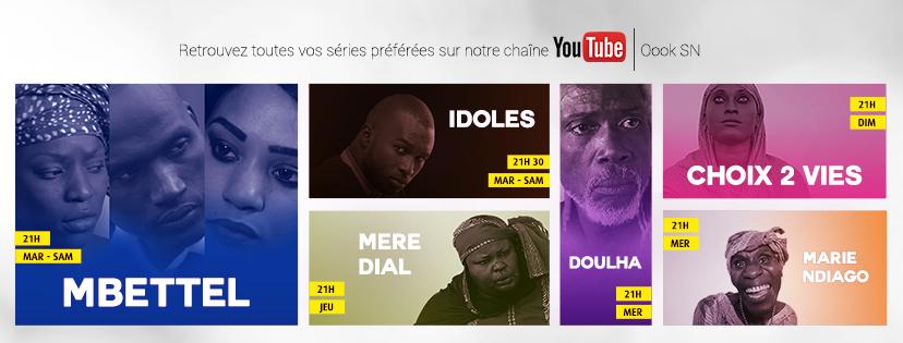Oook Sénégal, meilleure chaîne de divertissement sur Youtube