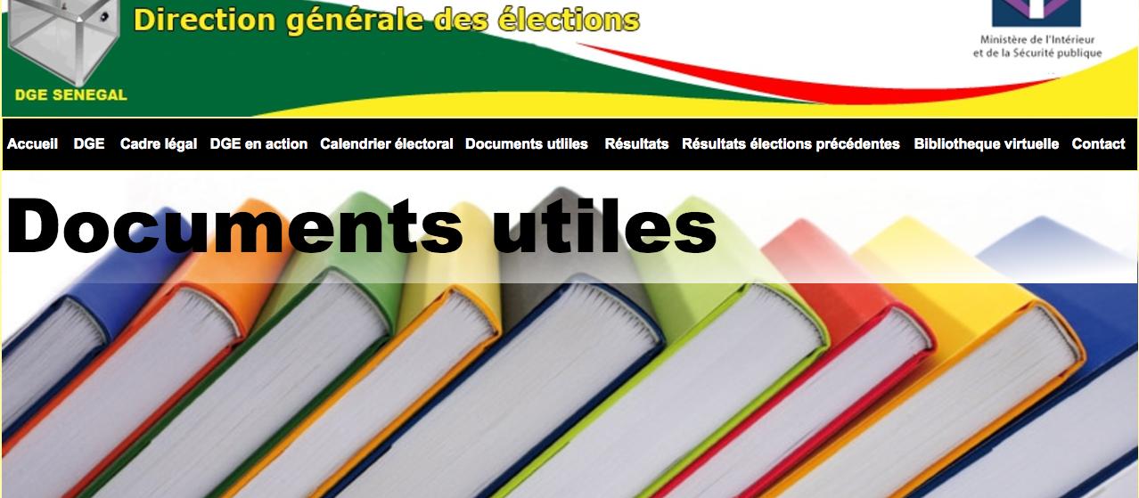 Elections législatives: quand la Dge expose les données personnelles des Sénégalais dans le cyberespace