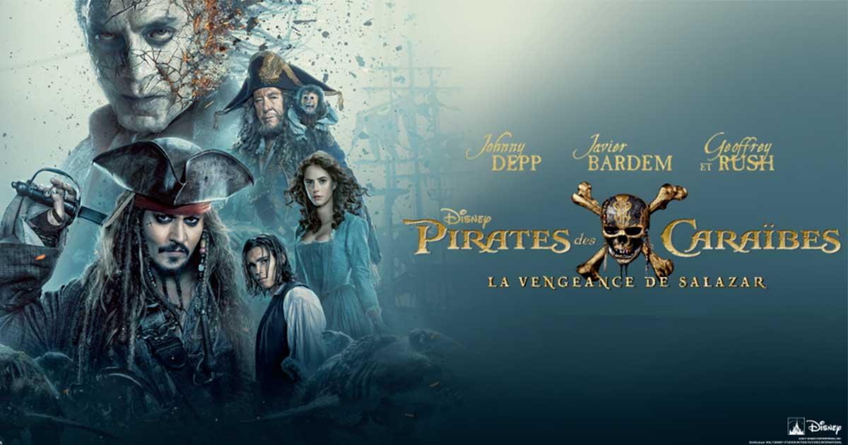 [Kdo SNL ] Gagnez des places de ciné pour Pirates des Caraïbes, La Vengeance de Salazar