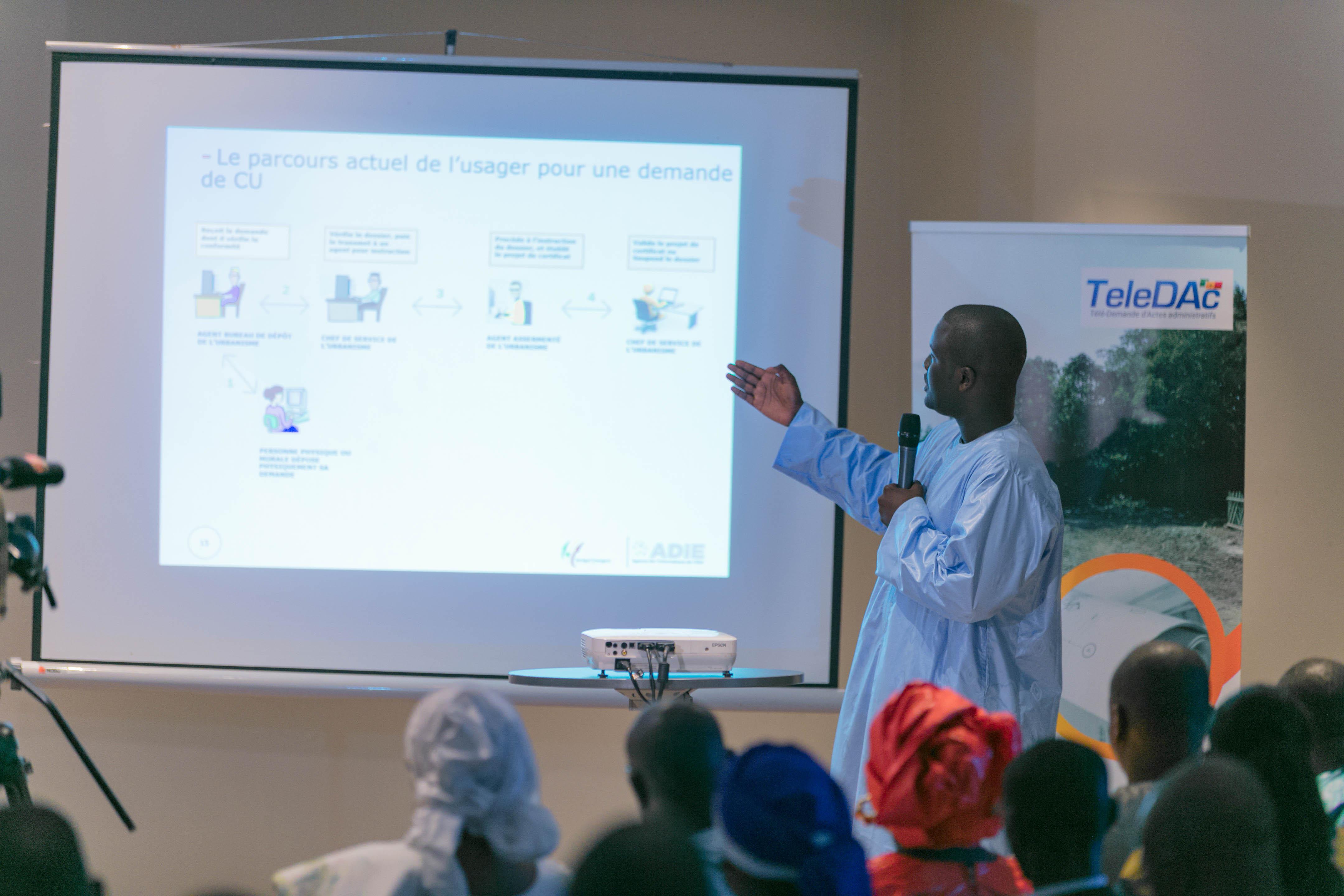 L'ADIE modernise l'urbanisme sénégalais avec la réalisation deux procédures en ligne