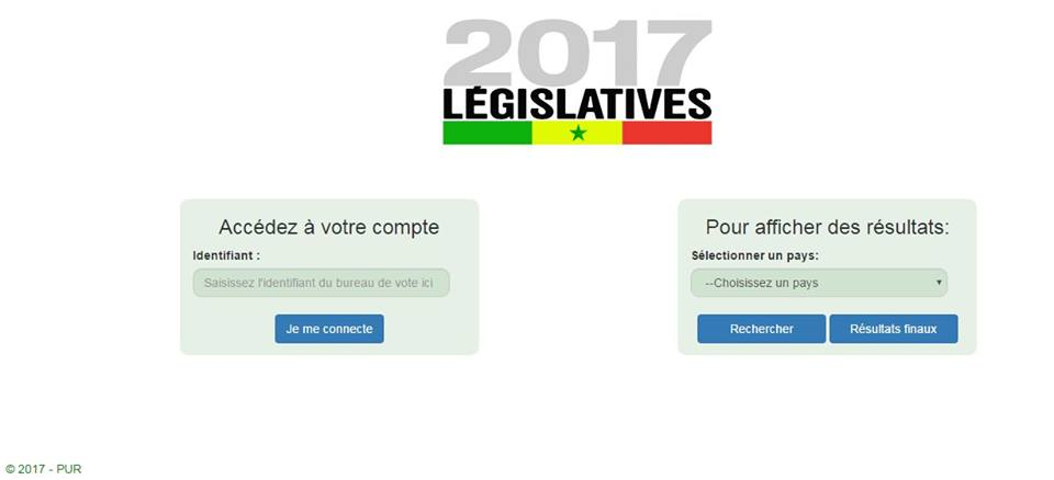 Application web contre la fraude électorale: Le PUR compte purifier le vote