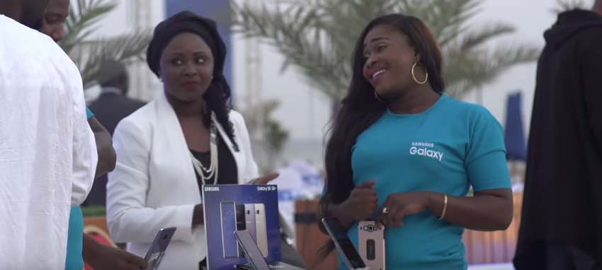 Lancement au Sénégal du Samsung Galaxy S8 & S8+