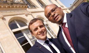 Karim Sy Patron de Jokkolabs en compagnie de Macron