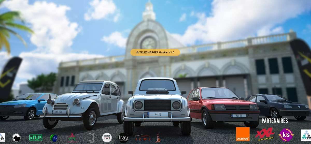 Gazkar, le jeu vidéo de course automobile 100% malgache qui cartonne.