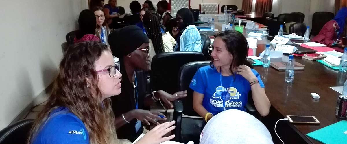 Le Sénégal et l'Espagne à l'école de l'Entreprenariat numérique des femmes.