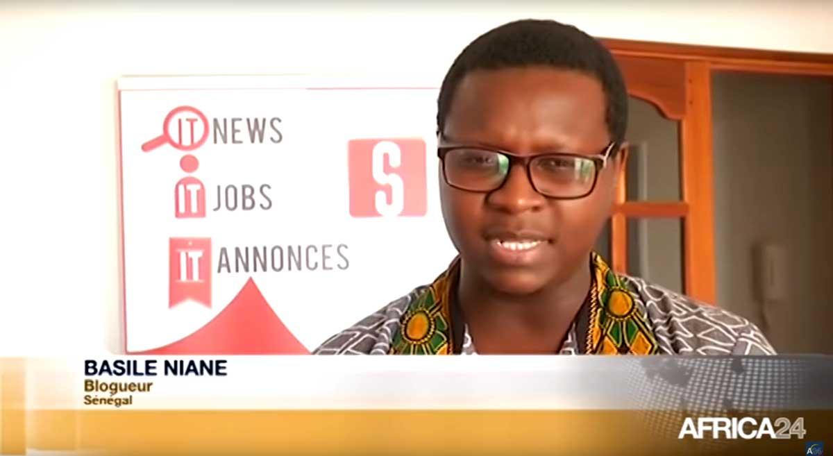 Vidéo : Sénégal, Dérives sur les réseaux sociaux avec Basile Niane sur Africa24