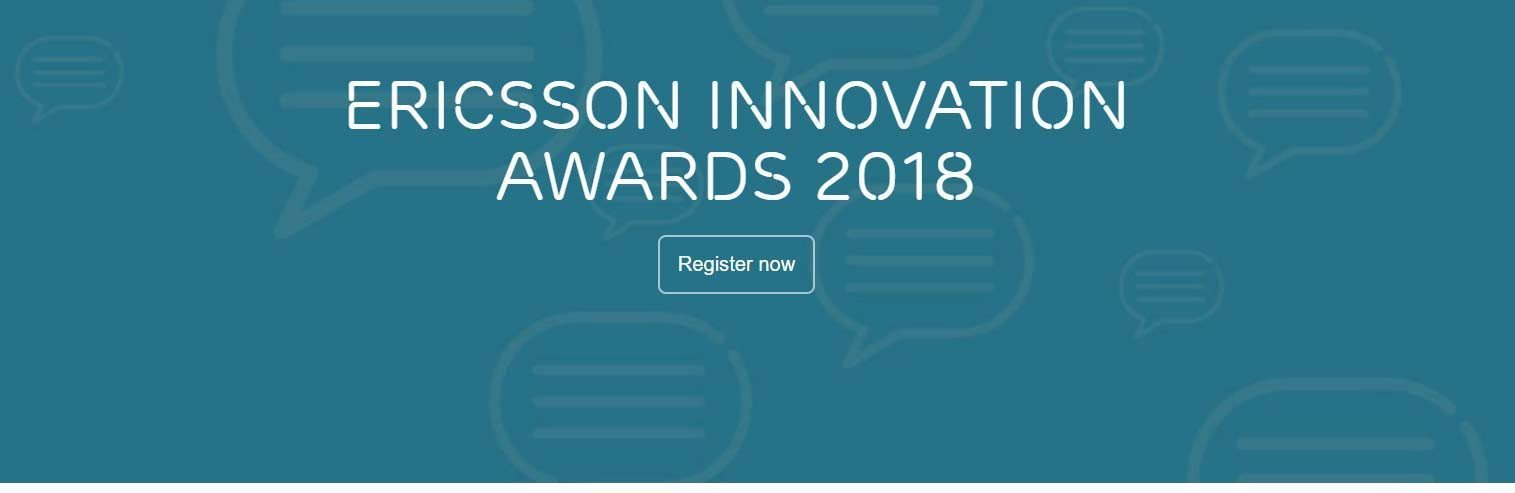 concours Ericsson innovation Awards 2018