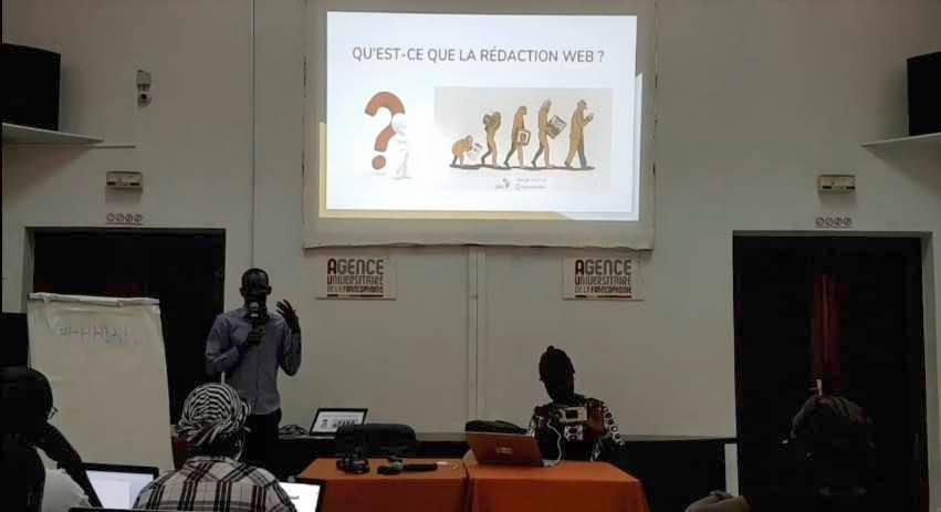 Formation : Techniques de rédaction web – Hack/Hackers Dakar