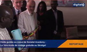 Sonatel ouvre officiellement les portes de Sonatel Academy, sa nouvelle école de codage, première du genre au Sénégal, en présence de M. Stéphane Richard, Président Directeur Général du groupe Orange et M. Alioune Ndiaye Directeur Général de Sonatel